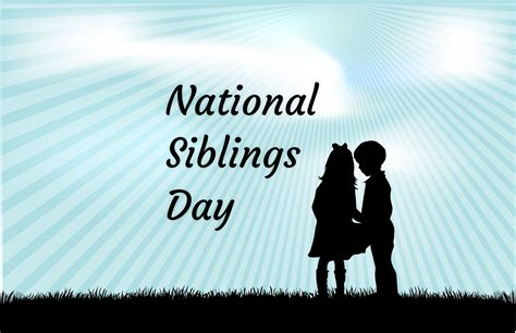 national siblings day celebrated