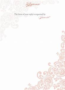 best photos of blank wedding invitation templates free With blank wedding invitations for printing