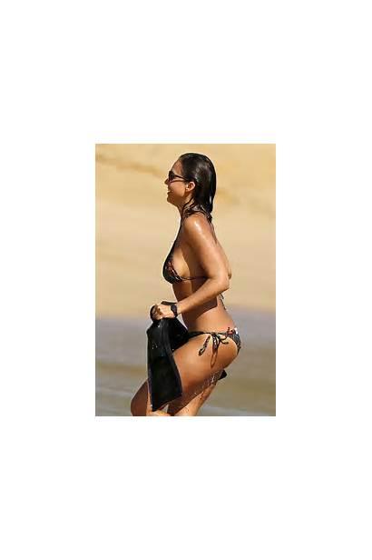 Alba Jessica Bikini Hawaii Candids Lanai Birthday
