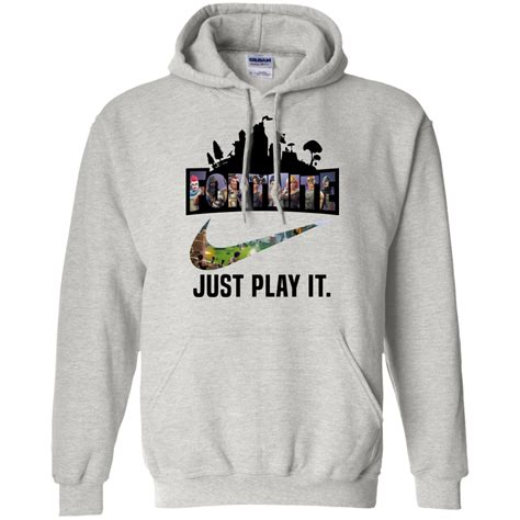 fortnite game  play  logo nike shirt hoodie men