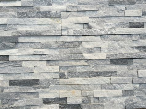 stone siding natural ledge stone cloudy gray ledge