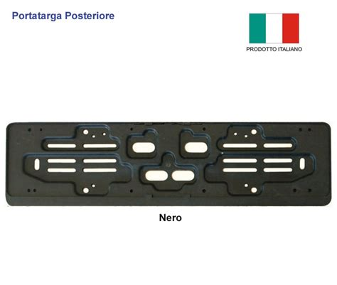 porta targa auto portatarga auto posteriore nero pe0850ne www lestylo it