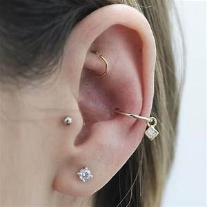 Rook Piercing Ideas, Jewelry, Pain and Cost