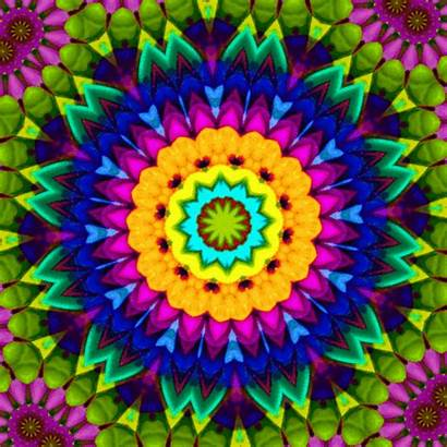 Gifs Trippy Animated Psychedelic Kaleidoscope Fractals Fractal