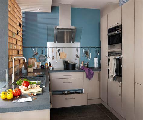cuisine 9m2 avec ilot cuisine ouverte ou fermée plus besoin de choisir