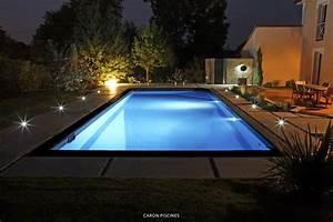 Eclairage Piscine Bois : eclairage terrasse piscine s 39 clairer efficacement avec ~ Edinachiropracticcenter.com Idées de Décoration