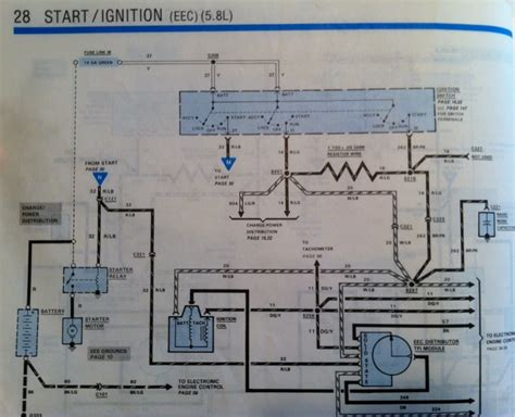 1986 Ford Ranger Starter Wiring Diagram by Wiring Diagram For 1987 Ford Truck Ford Truck