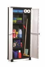 Armoire Range Balai : armoire plastique armoire de rangement plastique pas cher ~ Melissatoandfro.com Idées de Décoration