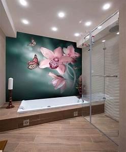 Raum Größer Wirken Lassen Streifen : das kleine badezimmer gr er wirken lassen blumen fototapete fototapete pinterest kleine ~ Markanthonyermac.com Haus und Dekorationen
