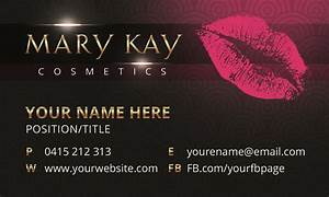 Mary kay quotes for business cards quotesgram for Mary kay business card template