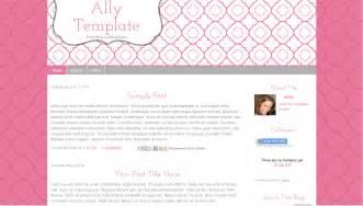 Simple Blog Template Blogger