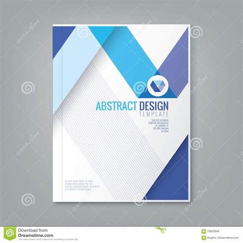 free background report abstract line design background template for business