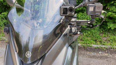 dji osmo action camera  gopro hero  black biker test youtube