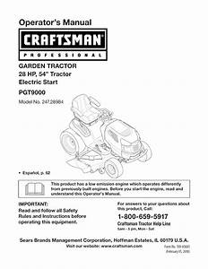 Craftsman Lawn Mower 247 28984 User Guide