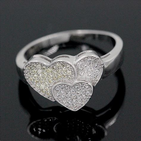 aliexpress buy almei rings for silver color wedding ring fashion jewelry