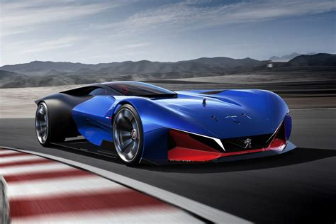 Peugeot Hybrid by Peugeot L500 R Hybrid Concept Futuriste De Sportive