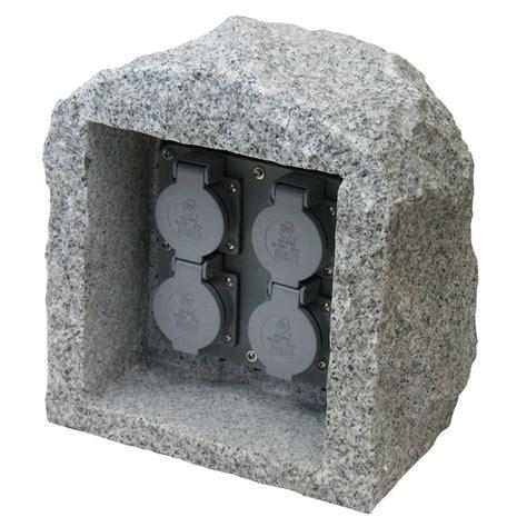 Energiestation Gartensteckdose Außensteckdose Außen