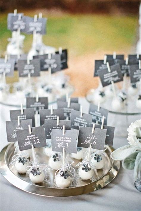 triditional wedding place cards  desserts member