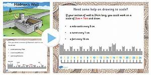 Hadrians Wall Drawing To Scale Lesson Teaching Pack