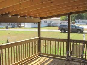Mobile Home Covered Porch Plans