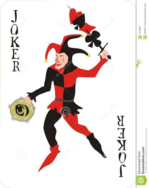 joker stock photography image