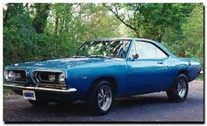 1968 Plymouth Barracuda Cars