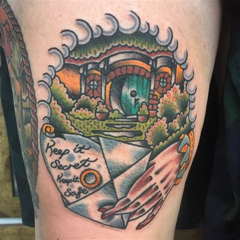 lord   rings tattoo chippendale