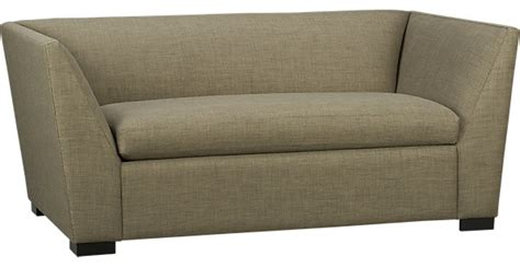 julius bark twin sleeper modern sleeper sofas by cb2