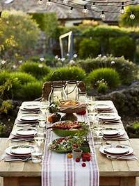 trending patio table decor ideas 37 Awesome Midsummer Table Settings - DigsDigs