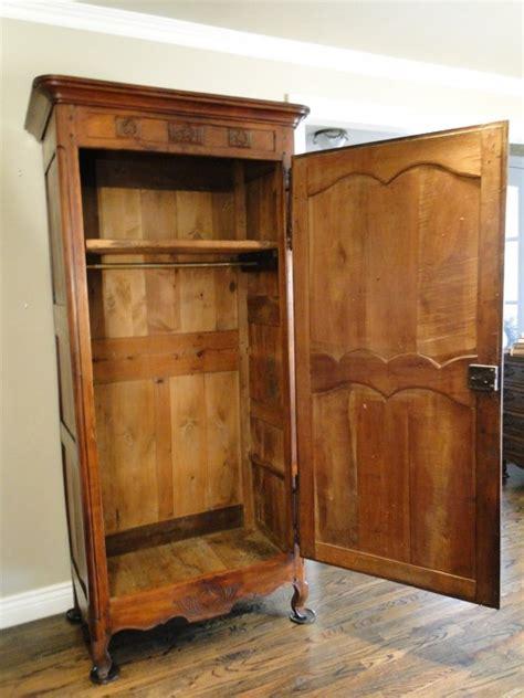 antique country armoire wardrobe closet provincial