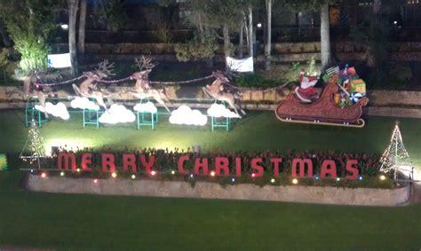 west end brewery riverbank christmas lights display 2012