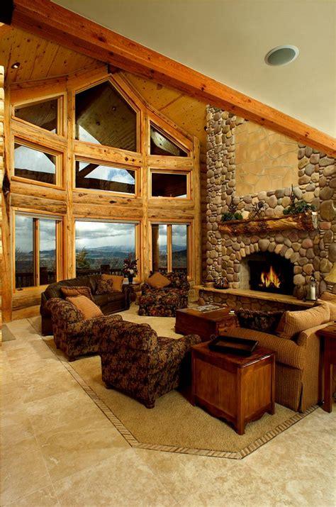 log home interior gallery yellowstone log homes