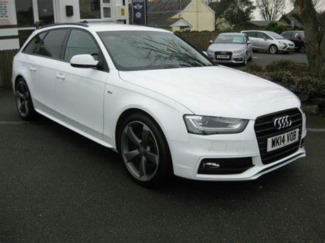 2014/14 Audi A4 2.0 Tdi 175bhp S Line Black Edition Estate