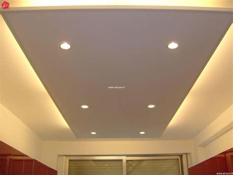 eclairage cuisine plafond faux plafond design avec éclairage décoration