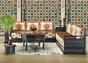 Salon Marocain Blanc : salon marocain blanc cass chameau gris 2 ~ Nature-et-papiers.com Idées de Décoration