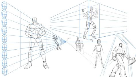 Perspective Drawing Poses