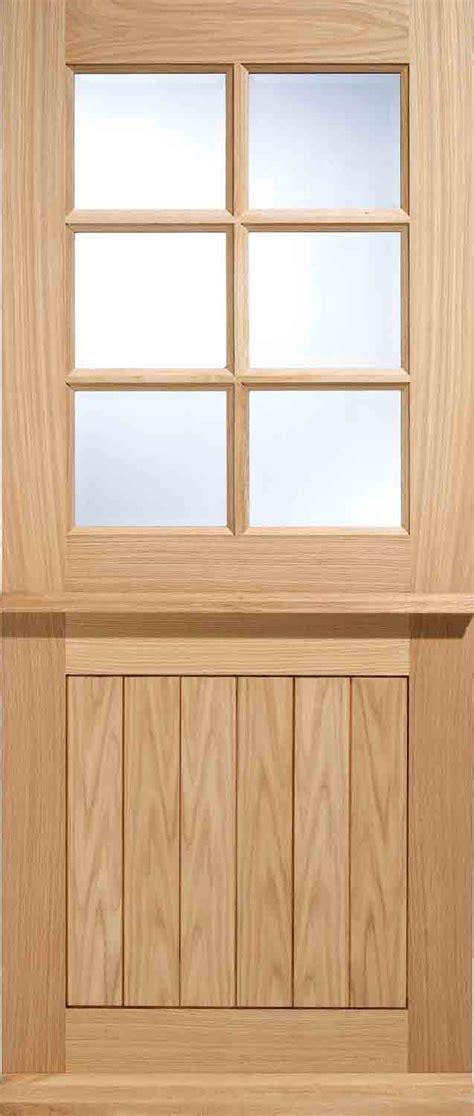 stratford  stable glazed external oak door