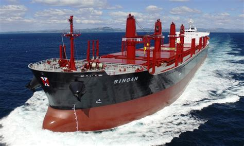 Swire Bulk Takes Delivery of New Bulk Carrier Singan ...
