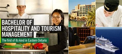 algonquin college adds bachelor  hospitality  tourism