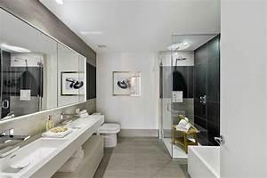 salle de bain moderne et epuree With salle de bain epuree