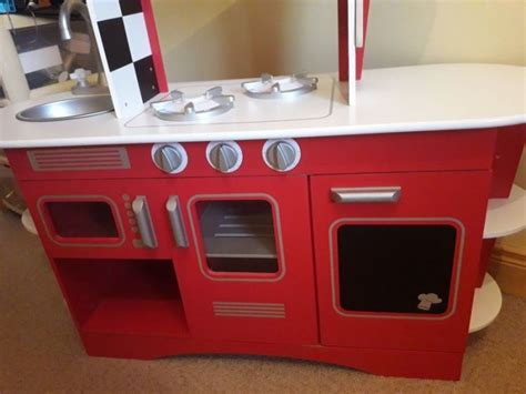 Early Learning Centre Red Toy Wooden Kitchen For Sale In