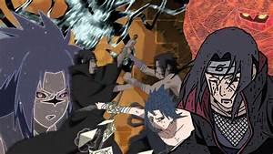Sasuke Vs Itachi Art Desktop by PyroJohn19 on DeviantArt