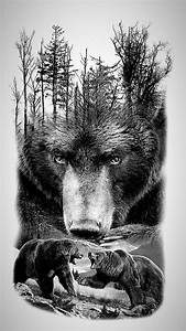 pin by stormhart on tattoos grizzly tattoos