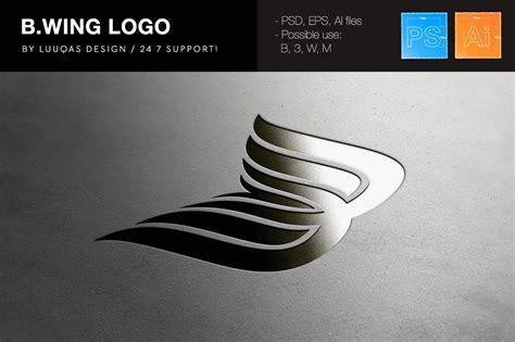 bwing company logo logo templates creative market