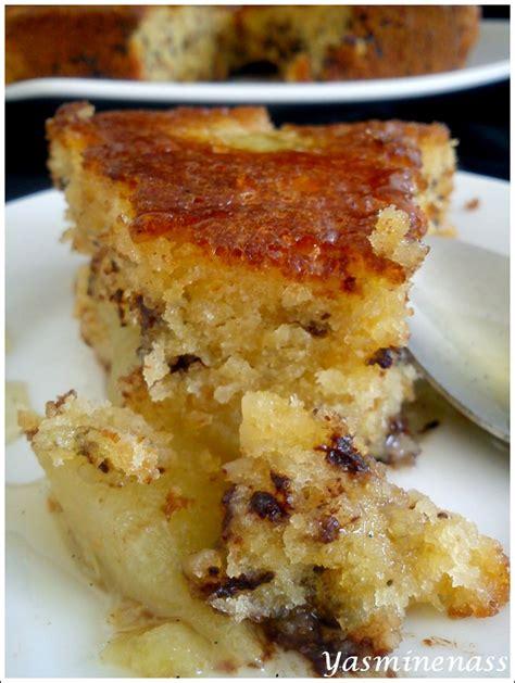 g 226 teau poires vanille chocolat amandes blogs de cuisine