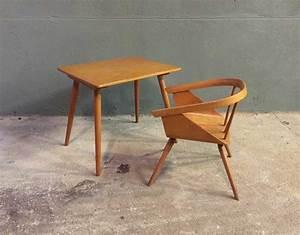 Ensemble Bureau Et Chaise Enfant Baumann