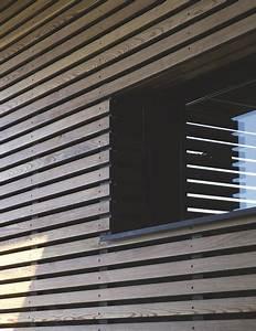 Bardage Claire Voie Horizontal : maison d 39 architecte moderne au bord du lac l man c t maison ~ Carolinahurricanesstore.com Idées de Décoration
