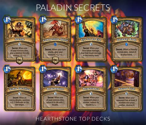 Top Tier Decks Hearthstone September 2017 by Hearthstone Secret Sheets Hearthstone Top Decks