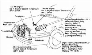 1998 Toyota Camry Engine Diagram