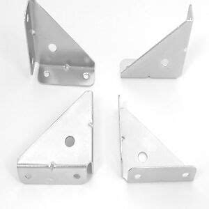 Wall Cupboard Brackets by 10 X Corner Mounting Bracket Brace Gusset 50 Mm Angle